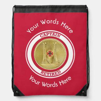 Retired Firefighter Captain Cinch Bag
