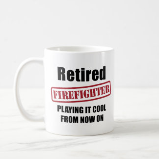 Retired Firefighter Coffee Mug