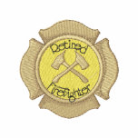 Retired Firefighter Embroidered Polo Shirt