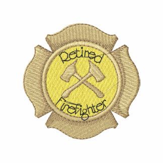 Retired Firefighter Embroidered Shirt