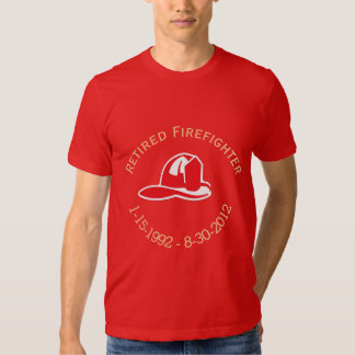 Retired Firefighter Helmut Shirt