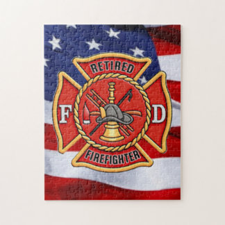 Retired Firefighter Jigsaw Puzzle