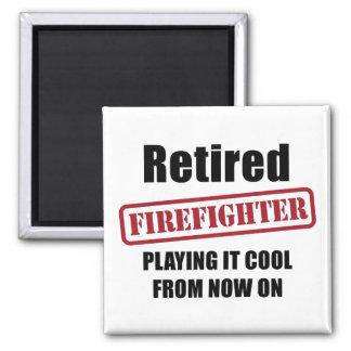 Retired Firefighter Magnet