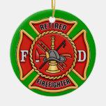 Retired Firefighter Ornament