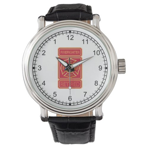 Retired Firefighter Wristwatch