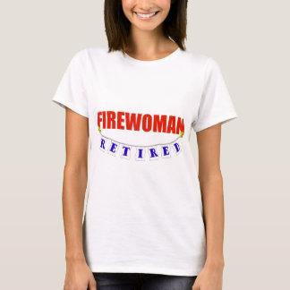 RETIRED FIREWOMAN T-Shirt