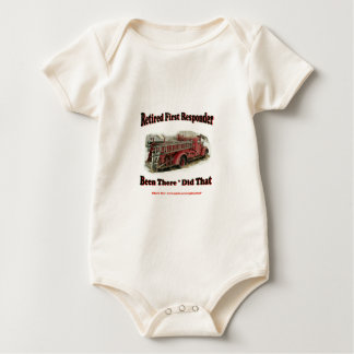 Retired First Responders. Baby Bodysuit