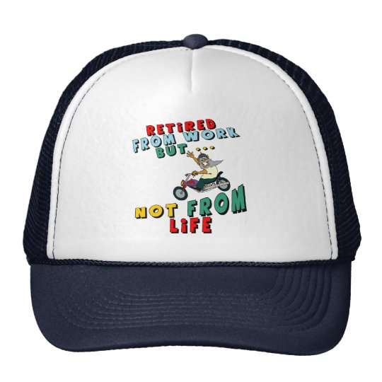 Retired From Work Trucker Hat