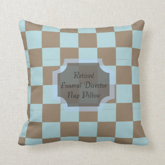 Retired Funeral Director Nap Pillow