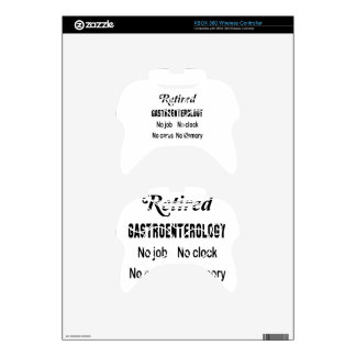 Retired Gastroenterology No job No clock No cares Xbox 360 Controller Decal