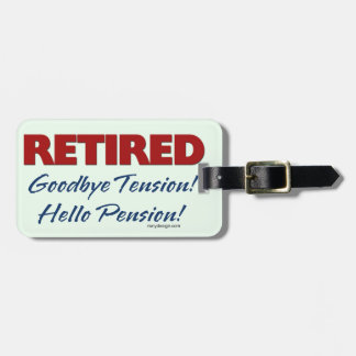 Retired: Goodbye Tension Bag Tag