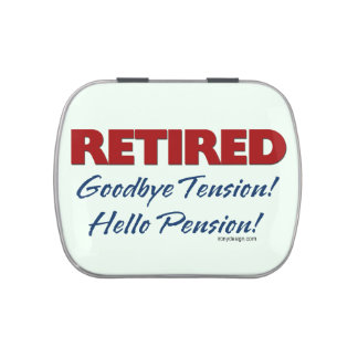 Retired: Goodbye Tension Candy Tins