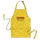 Retired: Goodbye Tension Hello Pension! Aprons