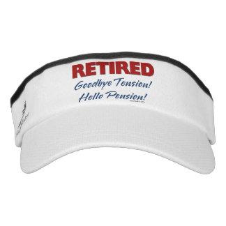Retired: Goodbye Tension Hello Pension! Headsweats Visor
