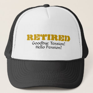 Retired: Goodbye Tension Hello Pension! Mesh Hat