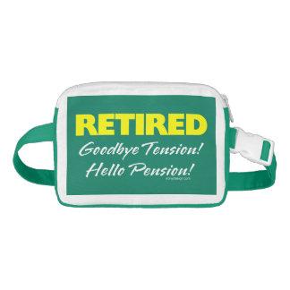 Retired: Goodbye Tension Hello Pension! Waist Bag