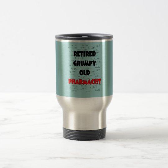 Retired Grumpy Old Pharmacist T-Shirts Mug