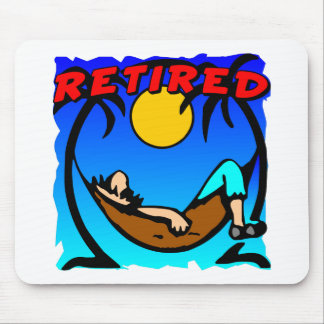 Retired Hammock Mouse Pad