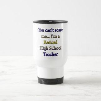 Retired High School Teacher Travel Mug