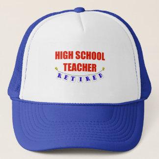 RETIRED HIGH SCHOOL TEACHER TRUCKER HAT