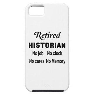 Retired Historian No job No clock No cares iPhone SE/5/5s Case