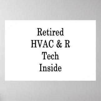 Retired HVAC R Tech Inside Poster