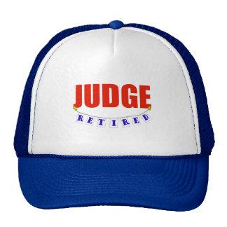 RETIRED JUDGE TRUCKER HAT