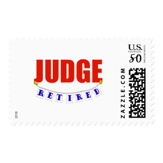 RETIRED JUDGE POSTAGE