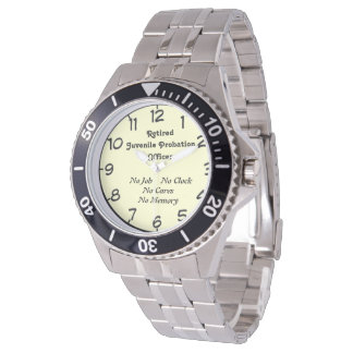 Retired Juvenile Probation Officer Watch