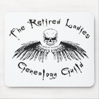 Retired Ladies Genealogy Guild Mouse Pad