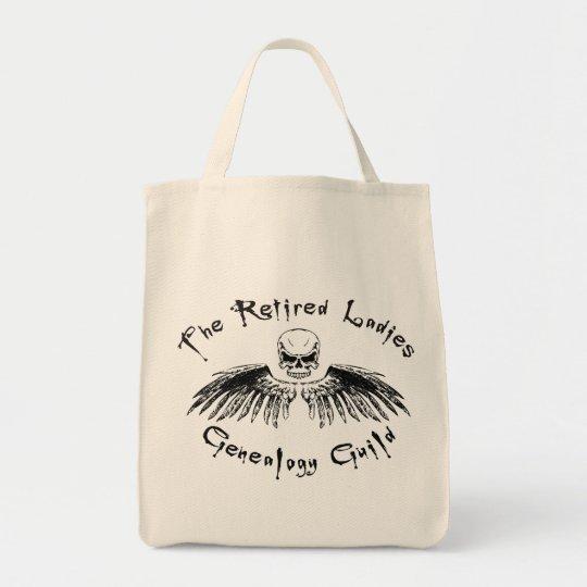 Retired Ladies Genealogy Guild Tote Bag