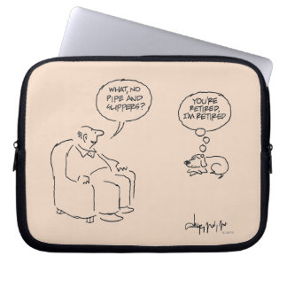 Retired Laptop Computer Sleeves