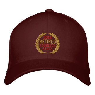 Retired Laurels Personalize it!  Embroidered Cap