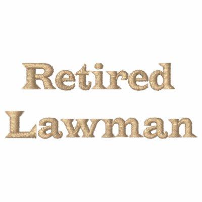 Retired Lawman Polos