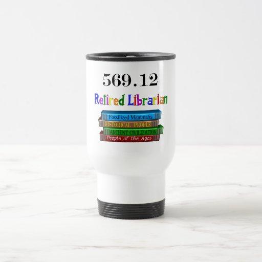 Retired Librarian 569.0 (Dewey Decimal System) Coffee Mugs