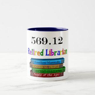 Retired Librarian 569.0 (Dewey Decimal System) Mug