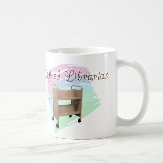 Retired Librarian EMPTY CART Coffee Mug