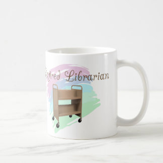 Retired Librarian EMPTY CART Coffee Mugs