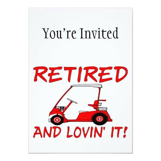 Retired & Lovin It Card