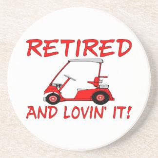 Retired & Lovin It Coaster