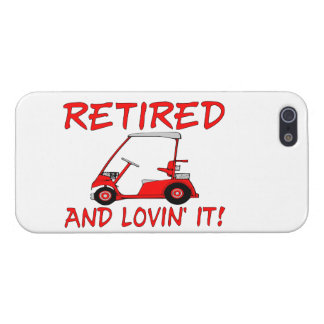 Retired & Lovin It iPhone SE/5/5s Cover