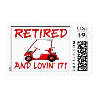 Retired & Lovin It Postage