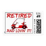 Retired & Lovin It Stamps