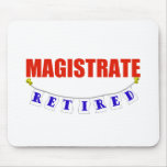 RETIRED MAGISTRATE MOUSE MATS