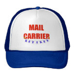 RETIRED MAIL CARRIER HAT