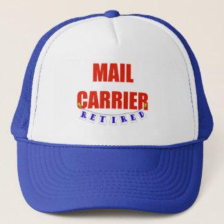 RETIRED MAIL CARRIER TRUCKER HAT