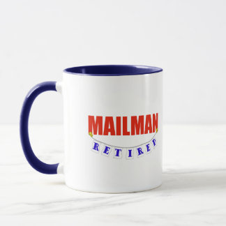 RETIRED MAILMAN MUG
