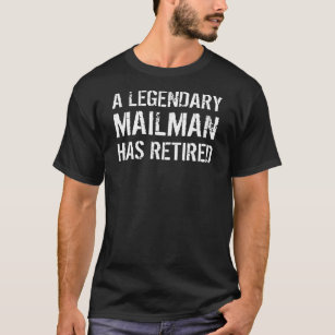 Letter Carrier Retirement Clothing | Zazzle