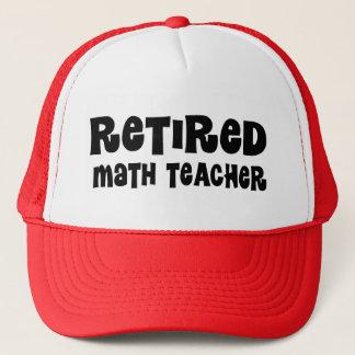 Retired Math Teacher Gift Trucker Hat