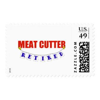 RETIRED MEAT CUTTER POSTAGE